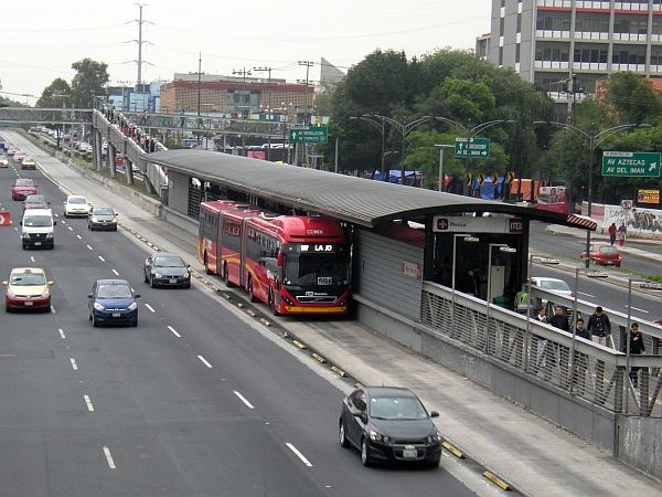 BRT station at Buenavista.